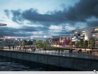 Energy Centre to power development of Clydebank's Queens Quay
