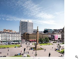 New lease of life for Glasgow college tower