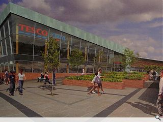 Tesco progress Glasgow Harbour plans