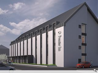 Oban to welcome new waterfront Premier Inn