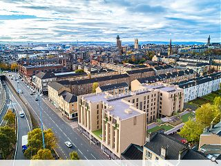 Glasgow mansion block to prioritise outdoor space