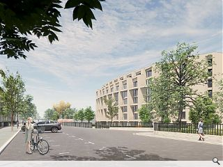 Developer rolls the dice again for Finnieston crescent apartments approval