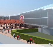A new entrance plaza will be laid at the entrance to the ground