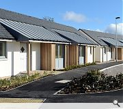 An adjoining residential development provides supported accommodation with a degree of independence