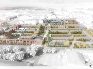 Laurieston masterplan secures planning approval