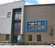 The three storey school benefits from low overheads