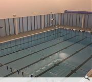 A 25m, six lane pool is included