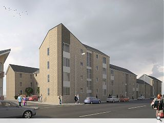 Ayr affordable housing project begins to rise