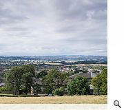 The vast scheme will be prominent as viewed from Corstorphine Hill