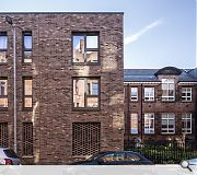 Twin new build blocks to the north comprise 18, two-bedroom flats