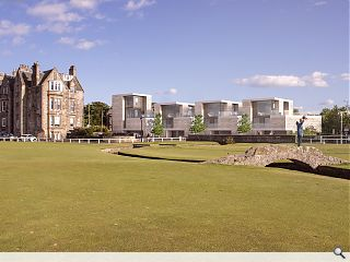 St Andrews townhouse quartet teed up