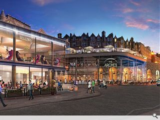 New Waverley Arches to be transformed into Fringe venue