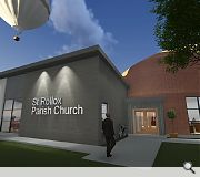 A new church will be built to serve the new community