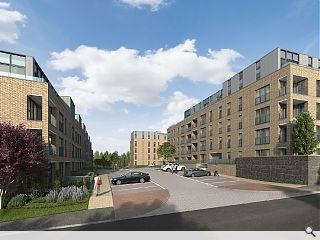 CALA Homes commence work on Langside apartments