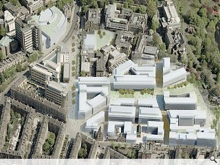 University of Glasgow takes possession of Western infirmary site