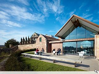 Rosslyn Chapel visitor centre completes