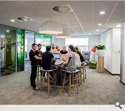 Vodafone's Glasgow office fit-out was honoured