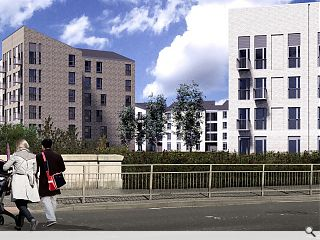 Dalmarnock builds momentum with plans for 151 flats
