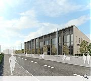 Extensive public realm will knit the school into the new community