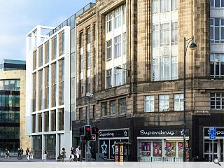 Fountainbridge office scheme submitted