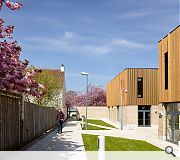 The Thistle Centre id formed from a mix of timber, brick and pre-cast concrete