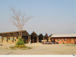 Zambian school hall project opens its doors