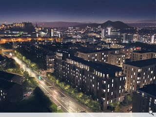 139 Edinburgh build to rent homes secure planning consent
