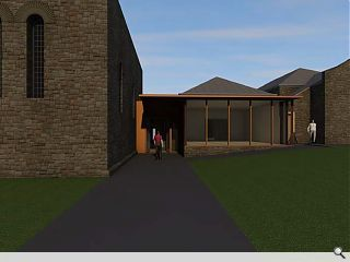 Edinburgh church sees the light with new extension
