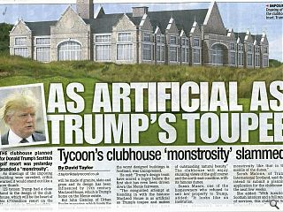 Trump clubhouse divides opinion