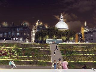 Design finalised for Union Terrace Gardens overhaul