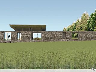 Low profile Dornoch pavilion house makes a mark