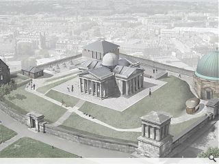 Calton Hill observatory to be transformed into arts base