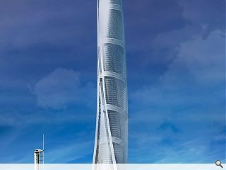 UK cities visualised being dwarfed by world's tallest buildings