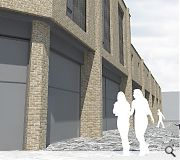 Solar panels will be installed on the roof of the building to keep energy bills in check