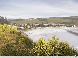 Artificial surf park in Ratho wins over city planners