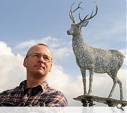 In heraldry a stag is a symbol of regeneration and growth