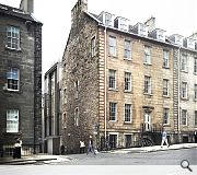 The A-listed building is situated in Edinburgh's New Town conservation area
