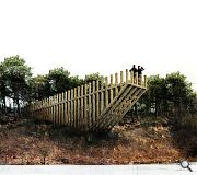 Lookout points will be introduced at key points in the landscape