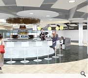 An all new food court will be provided under the plans
