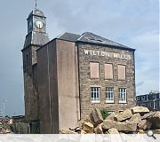 Planners have okayed the controlled demolition of the mill before it becomes unsafe