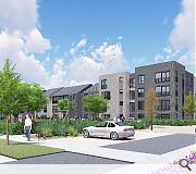 New homes will take the place of a former Lidl supermarket