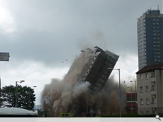 Commonwealth Games tower block demolition called off