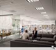 Complementary office space can be rented on a membership or pay as you go basis