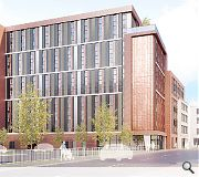 700sq/m of student amenity space is planned as part of the scheme