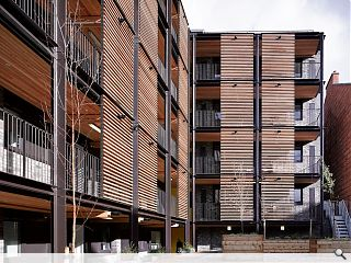 Great Western Road flats scheme completes