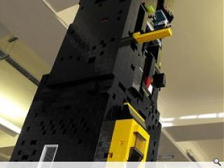 Come out and play with Prospect's LEGO display