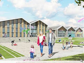 North Lanarkshire Council open town hub consultation drive