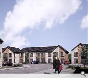 The development will be built to a density of 35 homes per hectare