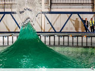 Bennetts unveil Edinburgh marine energy testing tank