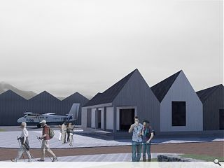 Inverness College students design Skye airfield terminal